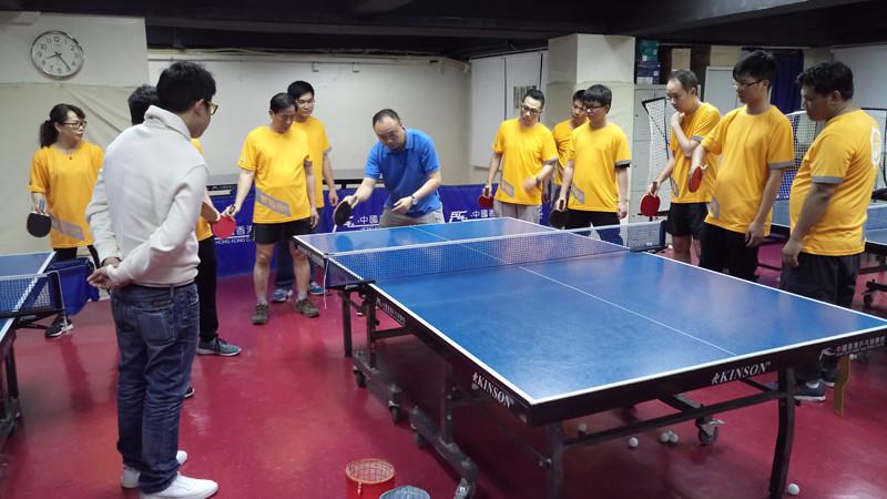 乒乓球訓練班(A班)