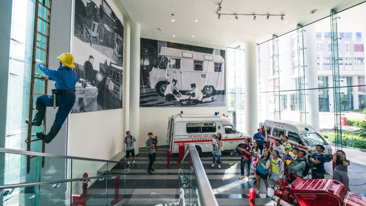 「消防及救護教育中心暨博物館」參觀-025