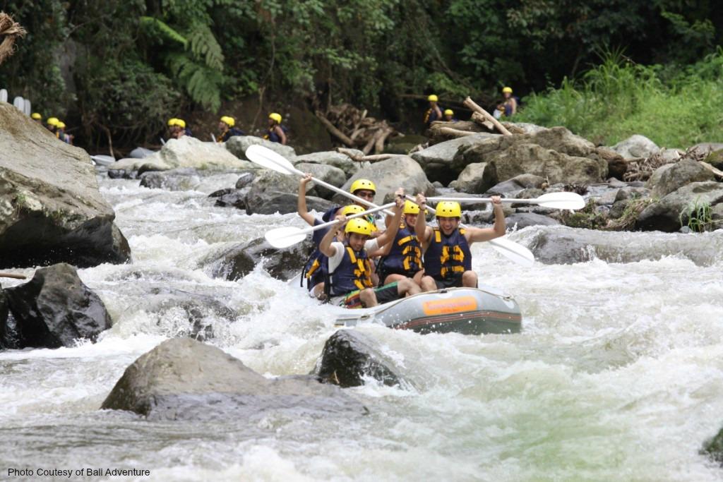 White Water Rafting at Ayung River Ubud
