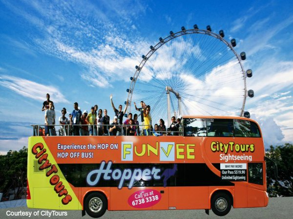 1 DAY HOPPER PASS WITH, SINGAPORE FLYER