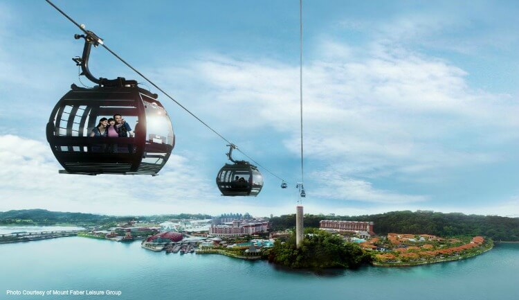 ADMISSION CABLE CAR RIDE (2 WAYS)