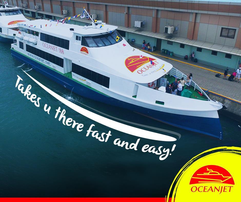 One Way Tourist Class Ferry Ticket From Tagbilaran Bohol To Cebu