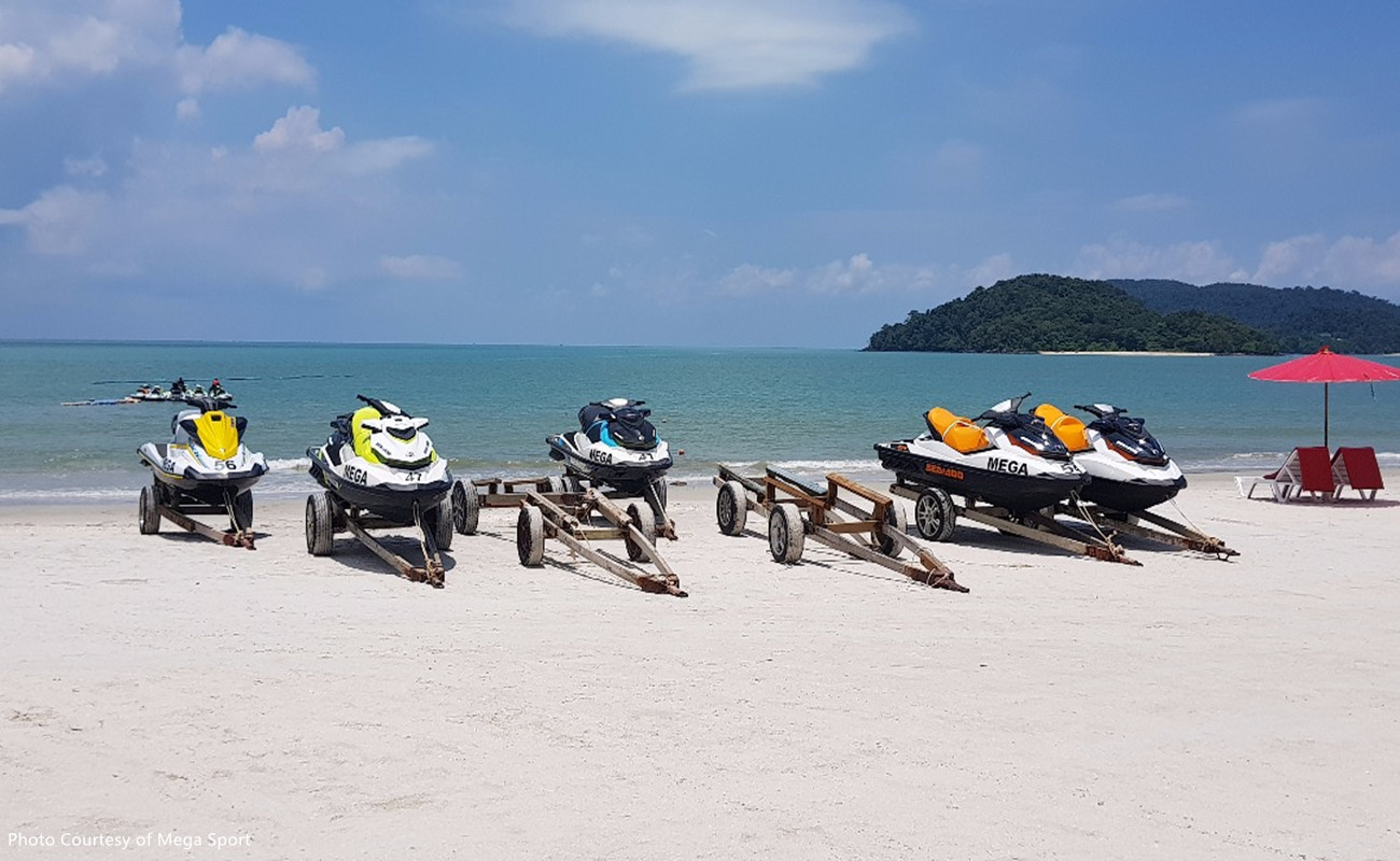 Jet Ski Tours to Three Island Tour Double Rider