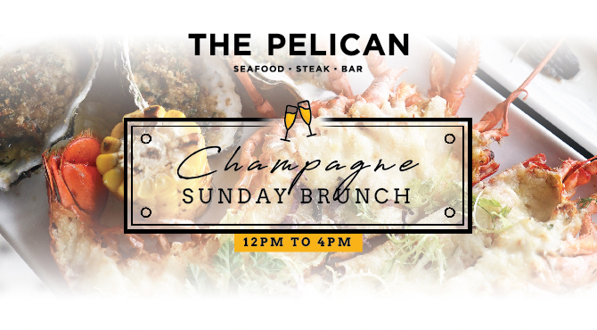 Meal Sunday Brunch at The Pelican