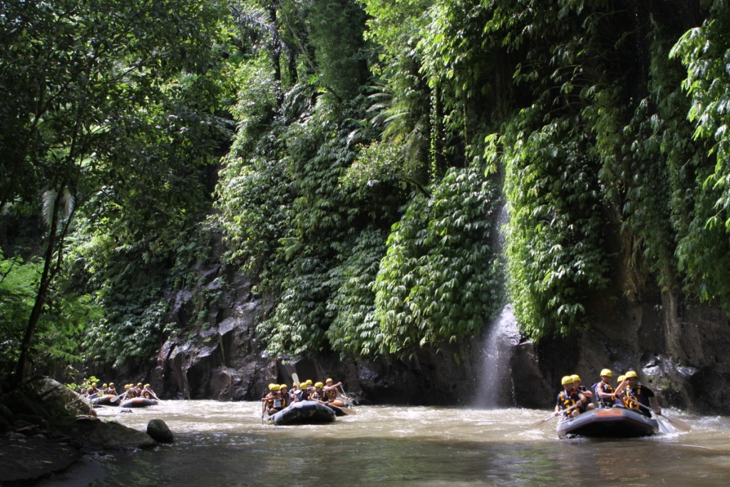 White Water Raft the Ayung River | Group activities in Bali