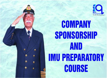 Merchant Navy: Company Sponsorship and IMU Preparatory Course