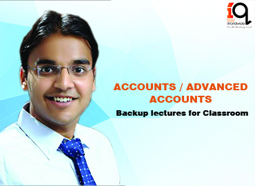 Backup classes for classroom students-Accounts/Advanced Accounts