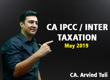 CA IPCC/INTER Taxation for May 2019