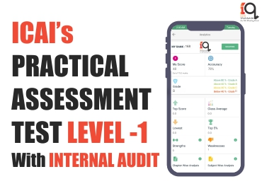 Practical Assessment Preparatory Course - Level 1 with Internal Audit