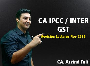 GST Revision for Nov 2018