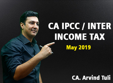CA IPCC/Inter May 19 Income Tax