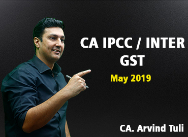 CA Inter/IPCC GST for May 2019
