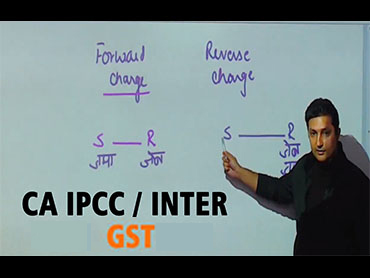CA IPCC/Inter GST - Nov 19