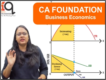CA Foundation - Business Economics for Nov 19 and May 20
