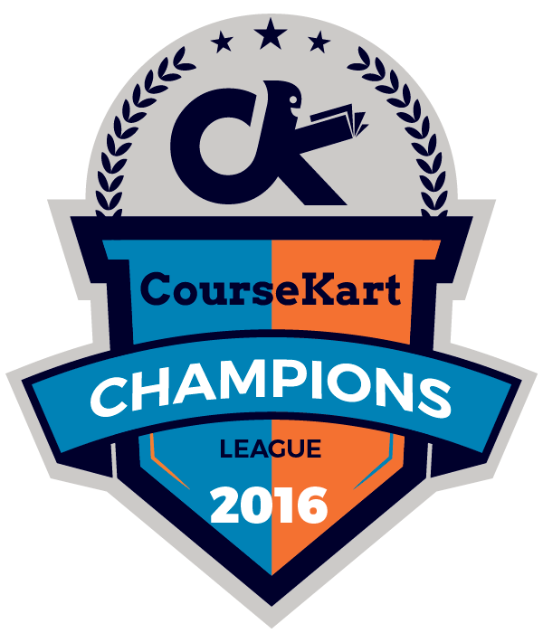 CourseKart Champions League Logo