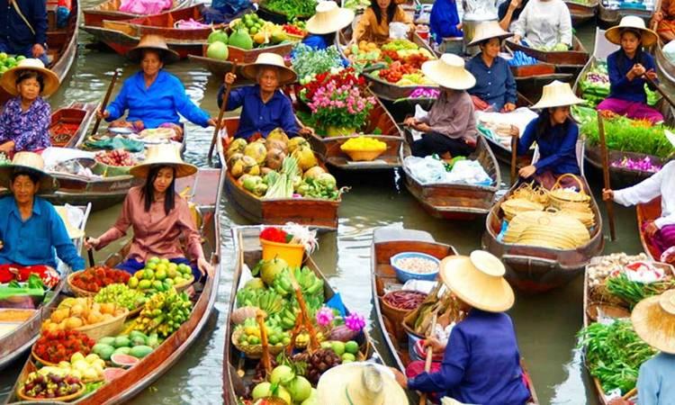 Floating Market Bangkok Tour Price