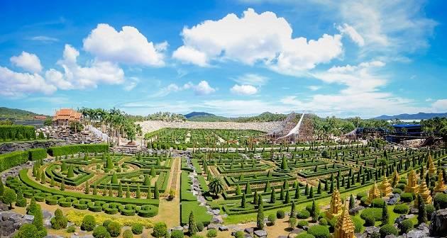 Nong Nooch Tropical Garden + Shows | ฿650 - Book Best Price Tour | Click2GoThailand.com