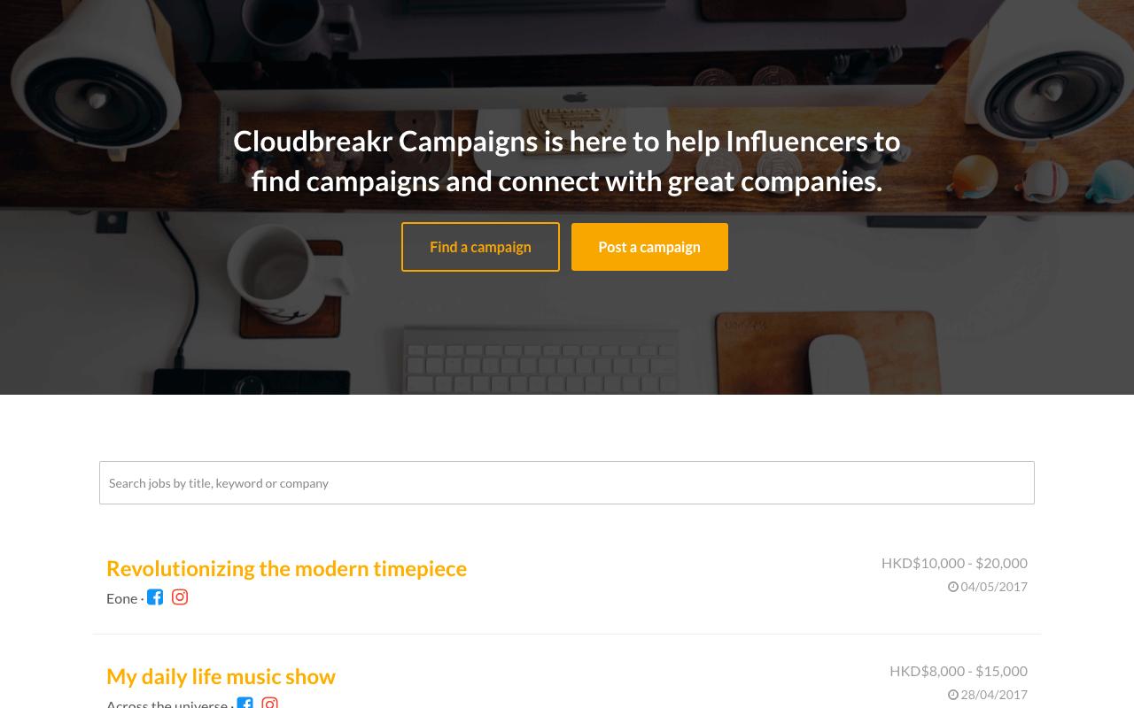 Cloudbreakr