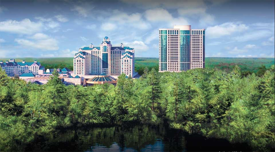 Foxwoods, Ledyard, Connecticut, USA With 340,000 Square Feet