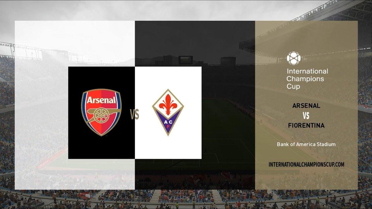 Arsenal vs Fiorentina ICC Cup 2019