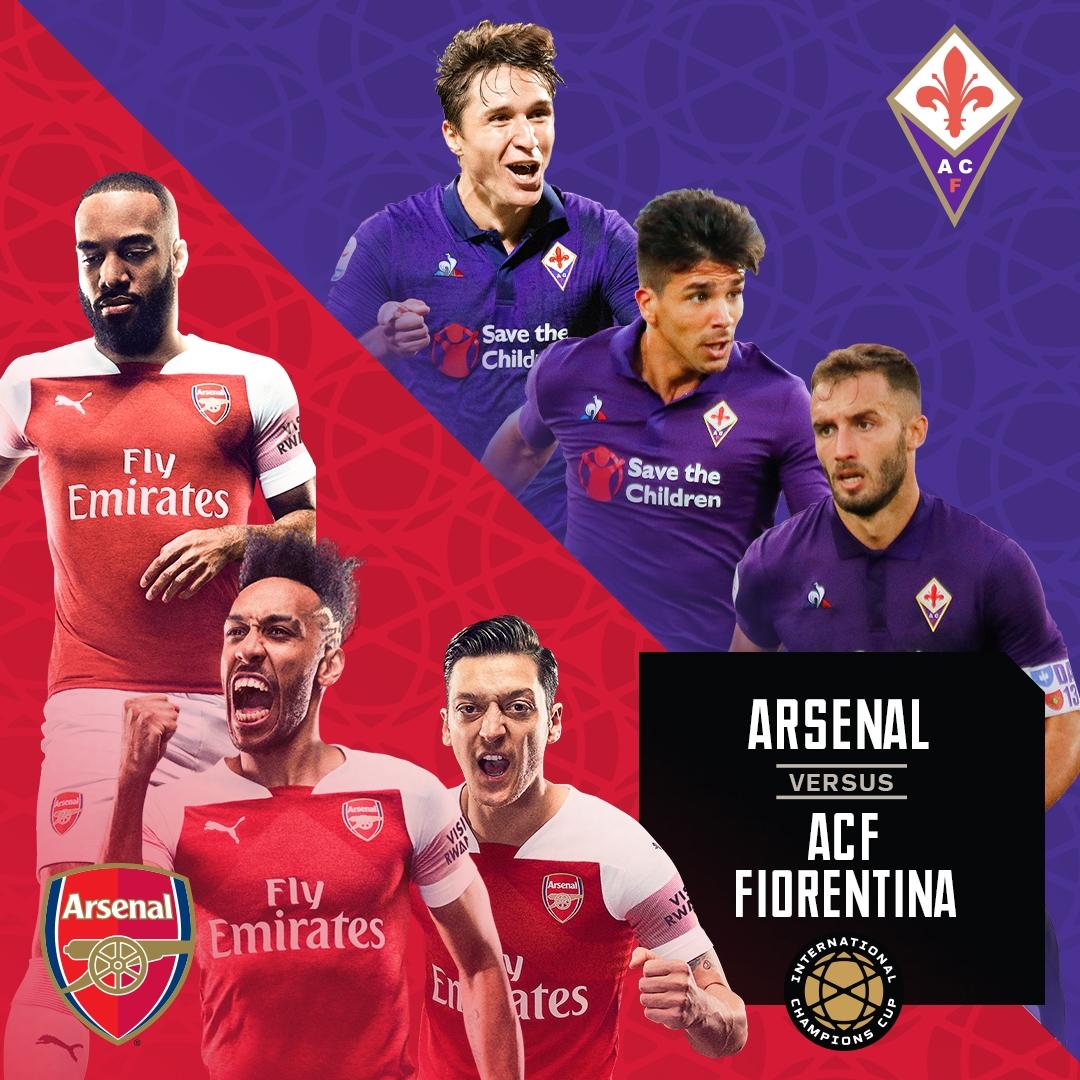 Arsenal vs Fiorentina ICC Cup 201