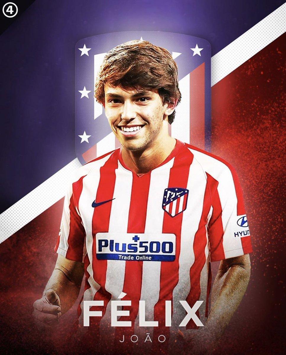 Tài năng trẻ Felix vừa chuyển sang đầu quân cho Atlentico Madrid