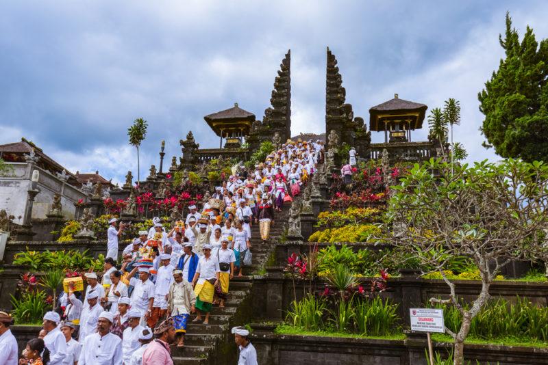 วัดปุราเบซากิห์ (Pura Besakih Temple) - เที่ยวบาหลี