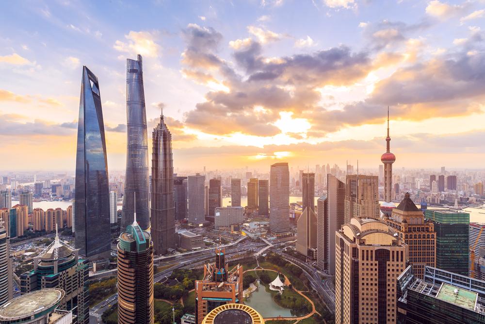 pemandangan di Shanghai