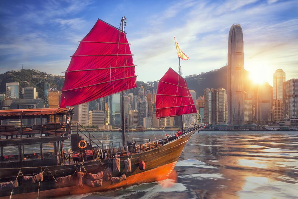 jalur laut hongkong
