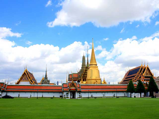 The Grand Palace and Wat Phra Kaew