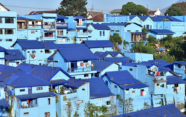 Kampung Biru Arema, Malang