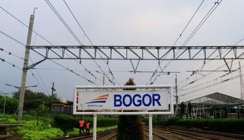 Stasiun Kereta Bogor Jawa Barat