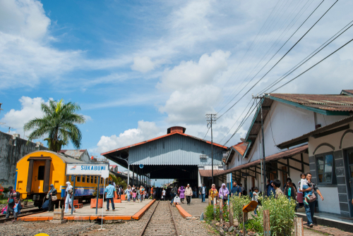 Stasiun Sukabumi Jawa Barat