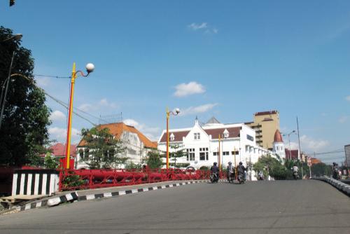 Jembatan Merah Kota Surabaya Jawa Timur