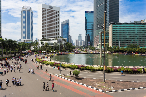 Grand Indonesia Shopping Town in Jakarta Indonesia
