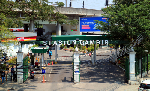 The Look of Gambir Station Jakarta
