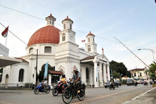 Kota Lama Semarang Jawa Tengah