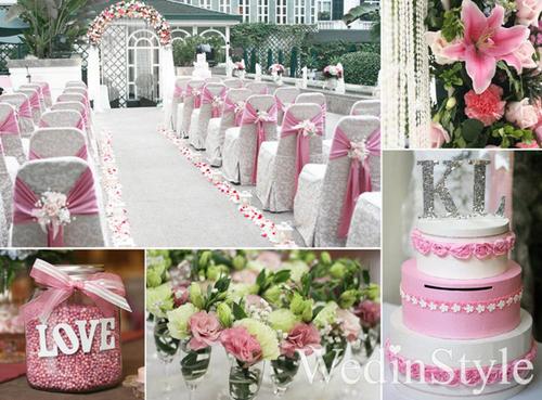 Một hộp tiền mừng cùng màu với tông màu trang trí của đám cưới sẽ tạo ra sự đồng nhất, đẹp mắt.