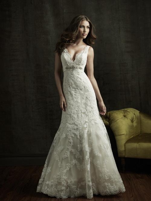Váy cưới đuôi cá xứng đáng là trang phục kiêu kỳ, nữ tính nhất.