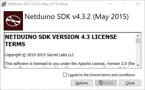 install Netduino SDK