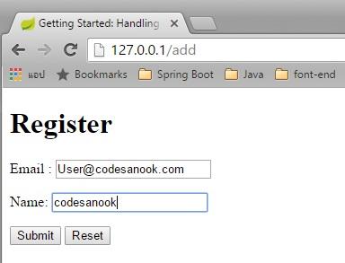 CodeSanook - Spring-boot : รวมคำสั่ง Hibernate เบื้องต้น และนำไปใช้