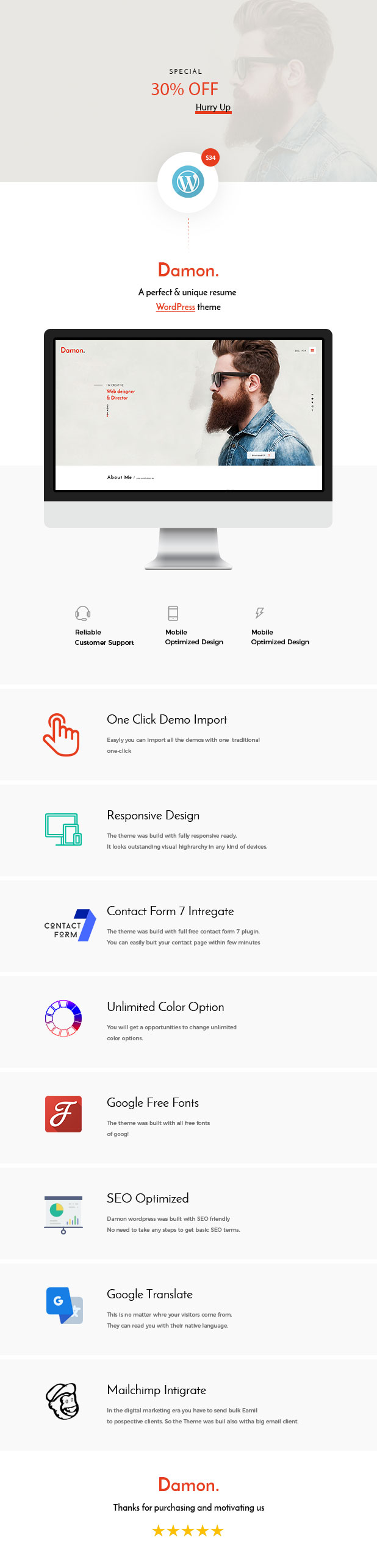 resume wordpress theme its have background sound facilities this is a perfect one to build your personal portfolios it has a lot of functionalities