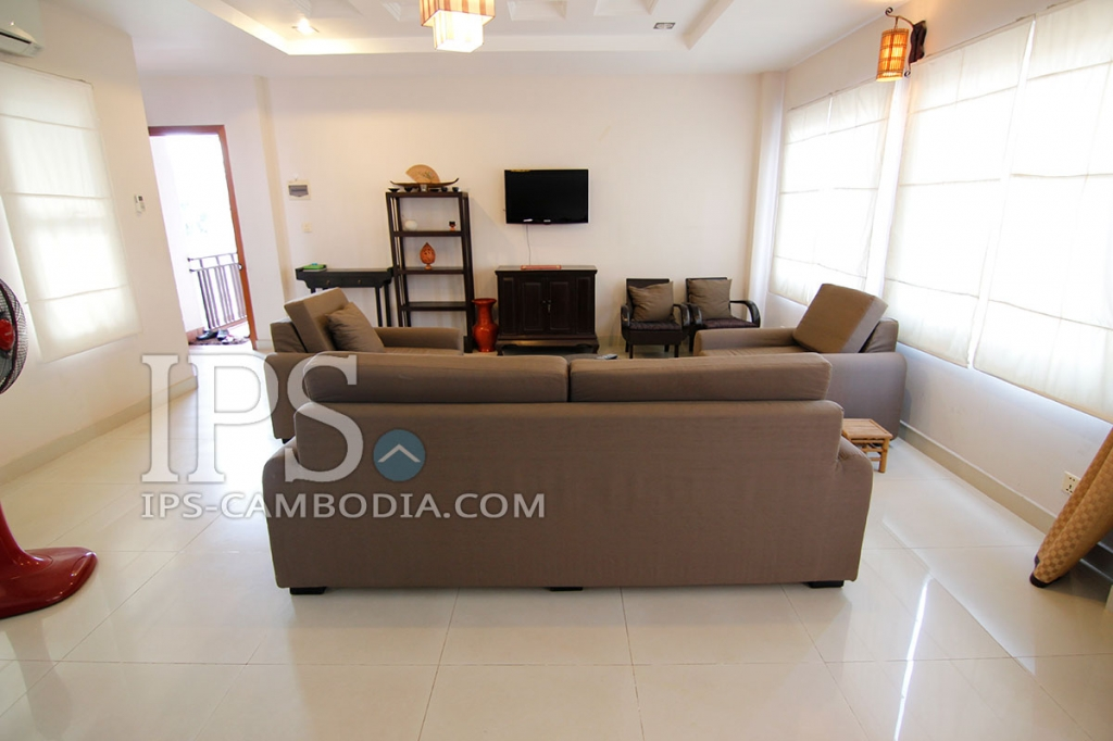ips phnom penh apartment for rent in bkk1 one bedroom studio