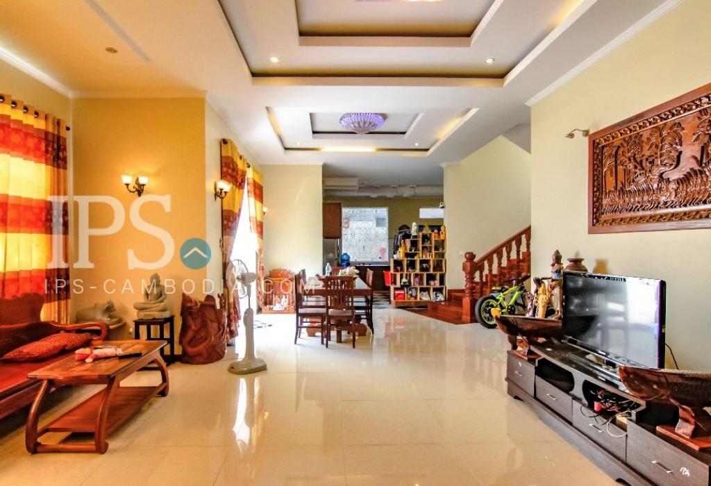 5 Bedroom Villa For Rent In Toul Tompong Five Bedrooms