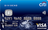 Citibank Dividend Card