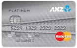 ANZ Platinum Master Credit card