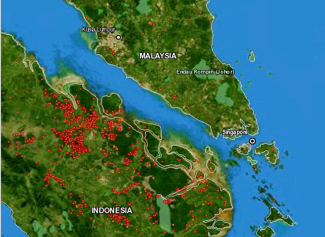 FIRMS Web Fire Mapper - 2013-06-21