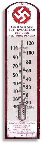 Swastika Fuel Co thermometer