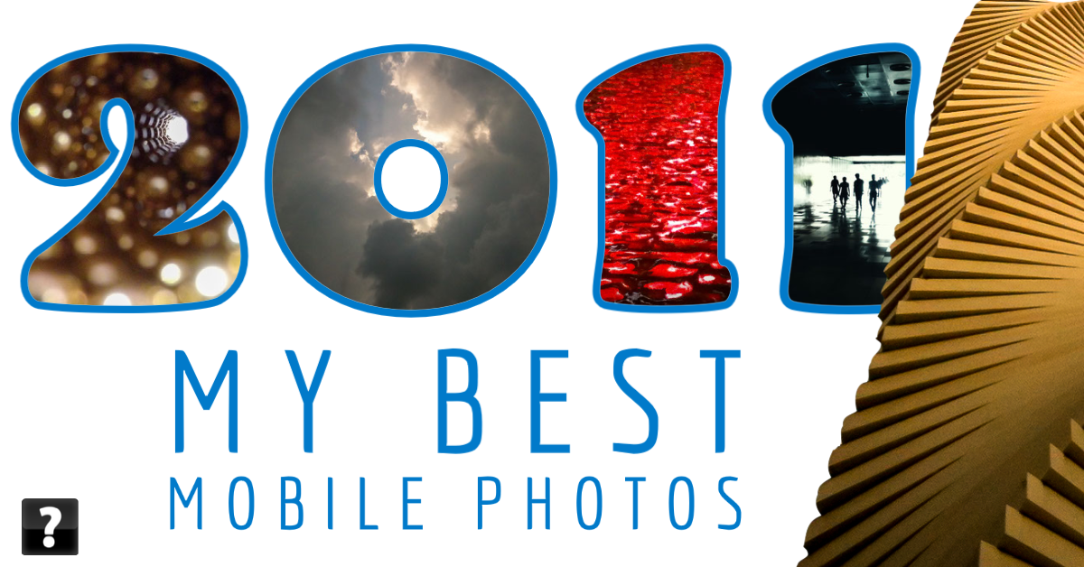 Collage of photos taken on mobile devices in 2011 by beggs
