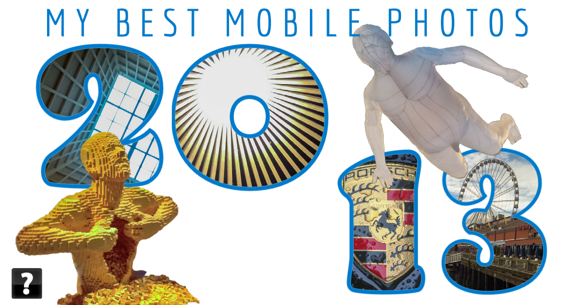 Collage of photos taken on mobile devices in 2013 by beggs